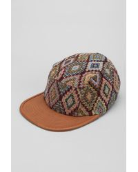 f9a109e6e6cf3 Urban Outfitters Rosin Tapestry 5panel Hat in Brown for Men - Lyst
