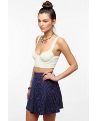 Urban Outfitters - White Lacey Bra Top - Lyst