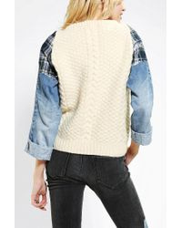 Urban Outfitters | Natural Summer Nights Crochet Cardigan in Beige | Lyst