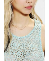Urban Outfitters   Metallic Adina Reyter Infinity Pendant Necklace   Lyst