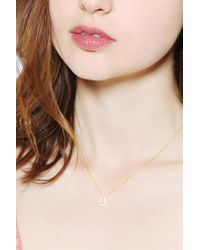 Urban Outfitters | Metallic Natalie B Jewelry Horseshoe Charm Necklace | Lyst