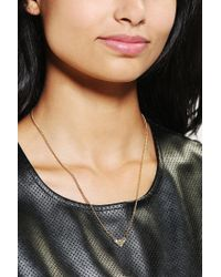 Urban Outfitters Metallic Superman Necklace