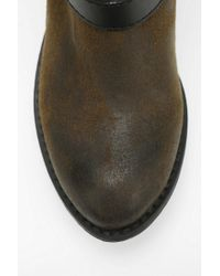 Urban Outfitters Green Rebels Shoes Miley Moto Boot