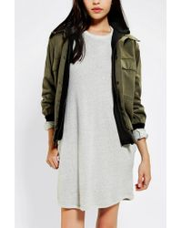Urban Outfitters | Green Urban Renewal Hooded Camo Bomber Jacket | Lyst