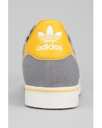 Urban Outfitters Gray Adidas Gazelle Rst Canvas Sneaker for men