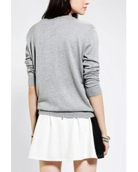 Urban Outfitters | Gray Cooperative Suzy Pullover Sweater | Lyst
