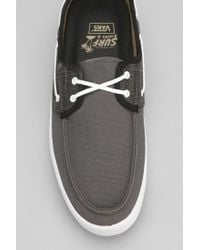 Urban Outfitters Gray Vans Chauffer Surf Siders 13 Mens Sneaker for men