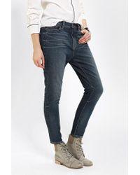 Urban Outfitters | Blue Bdg Lowslung Skinny Jean Kiss | Lyst