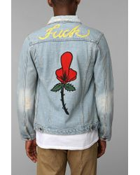 Urban Outfitters | Blue Unif Fu Denim Jacket for Men | Lyst