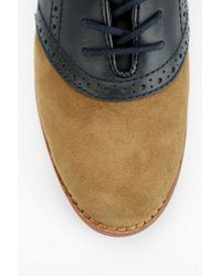 Urban Outfitters Brown Bass Enfield Saddle Oxford for men