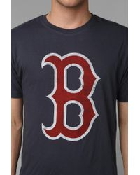 Urban Outfitters - Blue Boston Red Sox Tee for Men - Lyst