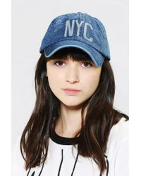 Urban Outfitters - Blue Baseball Hat for Men - Lyst