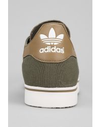 Urban Outfitters Green Adidas Gazelle Rst Canvas Sneaker for men