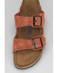 Urban Outfitters Orange Birkenstock Arizona Soft Footbed Sandal