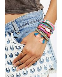 Urban Outfitters Pink Hipanema Amazonas Bracelet
