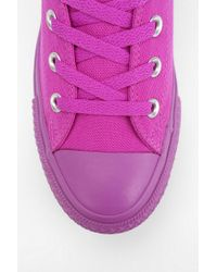 Urban Outfitters   Purple Tonal Hightop Flatform Sneaker   Lyst
