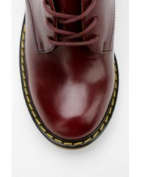 Urban Outfitters Purple Dr Martens Jinelle Heeled Oxford
