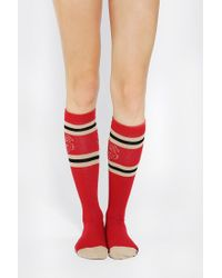 Urban Outfitters - Red Florida State Seminoles Kneehigh Sock - Lyst