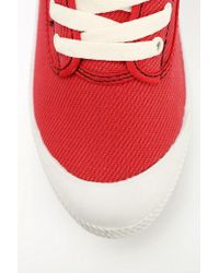 Urban Outfitters Red Volley International Canvas Sneaker for men