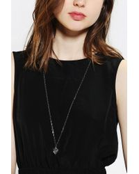 Urban Outfitters Metallic Love Potion Necklace