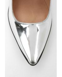 Urban Outfitters Metallic Jeffrey Campbell Walsh Pointytoed Mary Jane