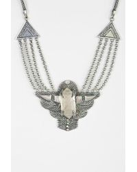 Urban Outfitters | Metallic Spell The Gypsy Collective Dark Side Of The Moon Necklace | Lyst