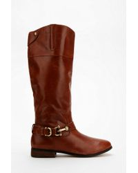 Urban Outfitters Brown Dolce Vita Channy Riding Boot