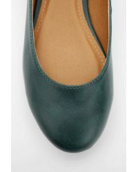 Urban Outfitters Blue Cooperative Alice Mary Jane