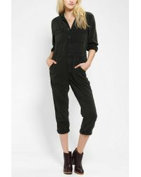 7fb762c48821 Lyst - Urban Outfitters BDG Workwear Jumpsuit in Black