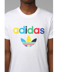 Urban Outfitters - White Adidas Color Oddity Tee for Men - Lyst
