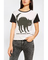 Urban Outfitters | Yellow Urban Outfitters New Baseball T-shirt | Lyst