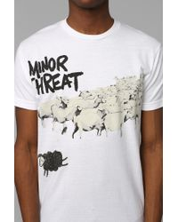 Urban Outfitters | White Minor Threat Sheep Tee for Men | Lyst