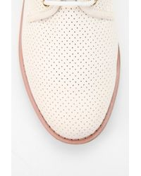 Urban Outfitters White Wanted Gordon Perforated Oxford for men