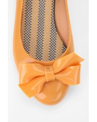 Urban Outfitters Yellow Shoes Bow Skimmer