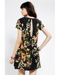 Urban Outfitters - Yellow Somedays Lovin Botanic Swing Dress - Lyst