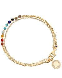Astley Clarke - Metallic Cosmos 18ct Gold Vermeil Friendship Bracelet - Lyst
