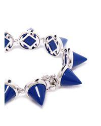 Eddie Borgo - Blue Lapis Cone Bracelet - Lyst