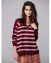 Free People Red We The Free Fluffy Swit