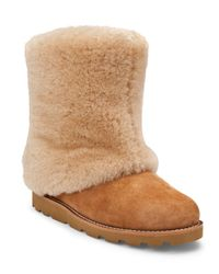 UGG Brown Boots Maylin Full Cuff