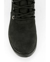 Urban Outfitters Black Bdg Laceup Hiking Boot