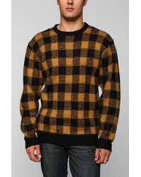 Urban Outfitters | Orange Brixton Regulator Sweater for Men | Lyst
