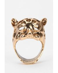 Urban Outfitters - Metallic Goldford Ring - Lyst
