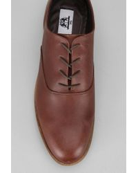 Urban Outfitters Brown Uo Leather Derby Shoe for men
