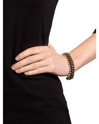 BaubleBar Metallic Iridescent Crystal Box Bracelet