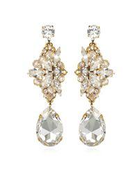 Erickson Beamon | Metallic Blue Nile Crystal Earrings | Lyst