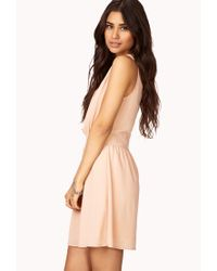 Forever 21 - Pink Cocktail Hour Beaded Dress - Lyst