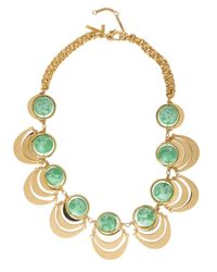 Lele Sadoughi | Orbit Necklace Green | Lyst