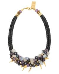 Lizzie Fortunato | Black After The Gold Rush Necklace | Lyst
