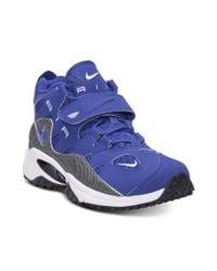 Nike Blue Air Max Speed Turf Raider Training Sneakers for men