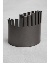 & Other Stories Metallic Sculpted Cuff